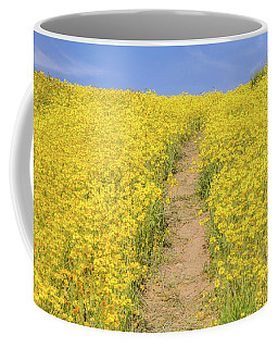 Coffee Mug featuring the photograph Golden Trail by Marc Crumpler