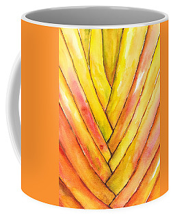 Golden Travelers Palm Trunk Coffee Mug