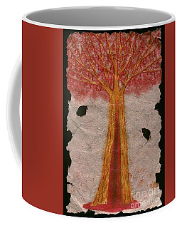 Golden Trees Crying Tears Of Blood Coffee Mug