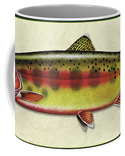 Golden Trout Id Coffee Mug