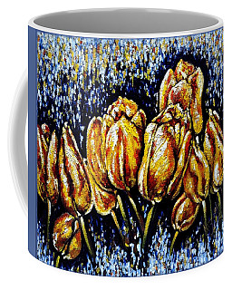 Golden Tulips Coffee Mug