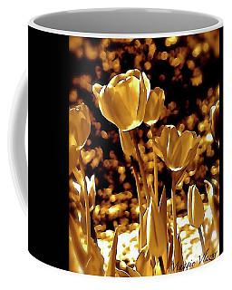Golden Tulips Coffee Mug