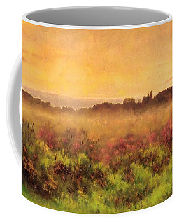 Golden Valley Sunrise - Misty Meadows Morning Coffee Mug