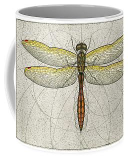 Golden Winged Skimmer Coffee Mug