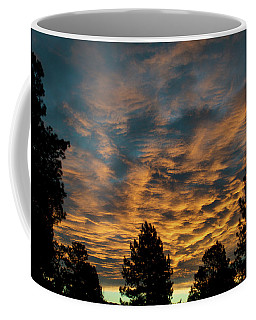 Coffee Mug featuring the photograph Golden Winter Morning by Jason Coward