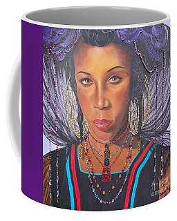 Gracious Golden Wodaabe Girl           From The Attitude Girls  Coffee Mug