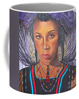 Golden Wodaabe Girl Coffee Mug