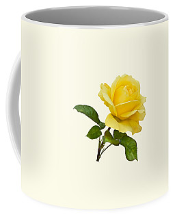 Golden Yellow Rose Coffee Mug