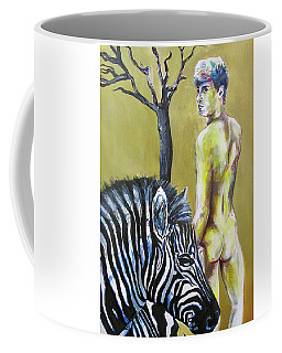 Golden Zebra High Noon Coffee Mug