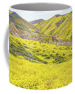 Goldfields And Temblor Hills Coffee Mug