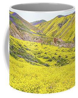 Goldfields And Temblor Hills Coffee Mug