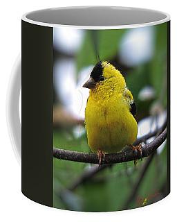 Coffee Mug featuring the digital art Goldfinch by John Selmer Sr