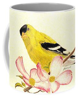Goldfinch Spring Coffee Mug