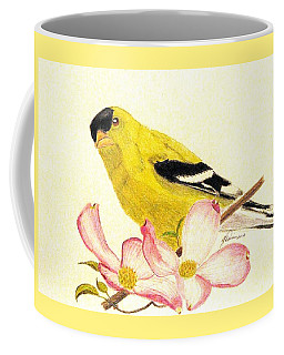Goldfinch Spring Coffee Mug