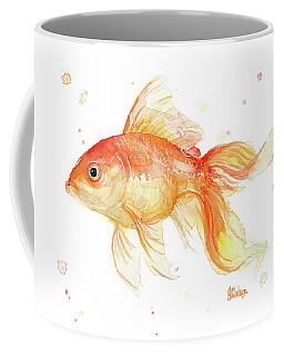 Goldfish Painting Watercolor Coffee Mug
