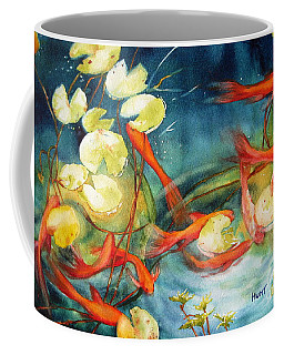 Goldfish Pond Coffee Mug
