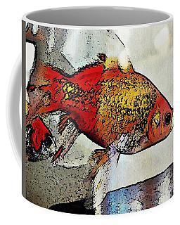 Goldfish Coffee Mug by Sarah Loft