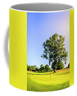 Coffee Mug featuring the photograph Golf Course by Alexey Stiop