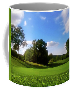 Golf Course Landscape Coffee Mug