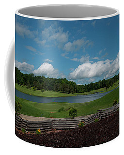 Golf Course The Back 9 Coffee Mug by Chris Flees