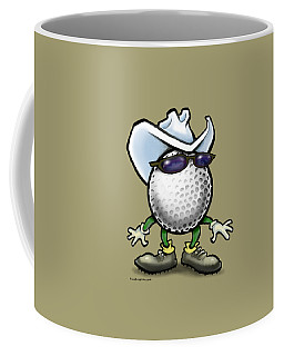 Golf Cowboy Coffee Mug