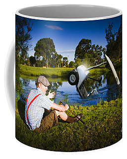 Coffee Mug featuring the photograph Golf Problem by Jorgo Photography - Wall Art Gallery