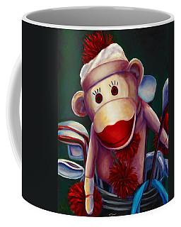 Golfer Made Of Sockies Coffee Mug