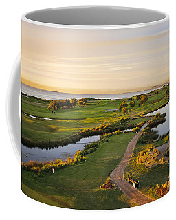 Golfing At The Gong II Coffee Mug