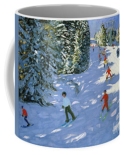 Gondola Austrian Alps Coffee Mug
