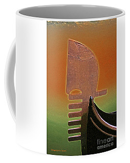 Gondola Modern Abstract Coffee Mug