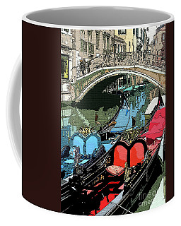 Gondolas Fresco  Coffee Mug