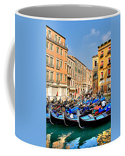 Gondolas In The Square Coffee Mug