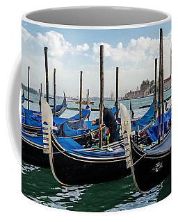 Gondolas On The Grand Canal Coffee Mug