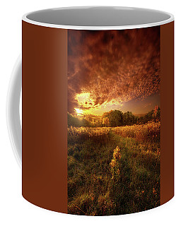 Gone Far Away Into The Silent Land Coffee Mug