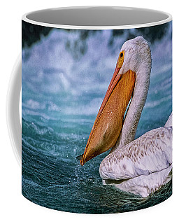 Coffee Mug featuring the photograph Gone Fishin' by Brad Allen Fine Art