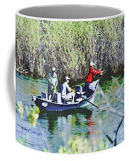 Gone Fishin' Coffee Mug by Kae Cheatham