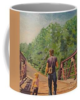 Gone Fishing With Dad Coffee Mug