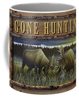 Gone Hunting - Locked At Lac Seul Coffee Mug