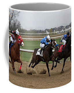 Gone In 15 Seconds Coffee Mug by Davandra Cribbie