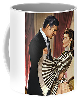 Gone With The Wind - 1939 - Completely Retouched In Color Coffee Mug