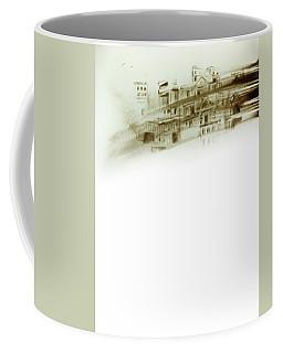 Gone With Wind. Sand Art Coffee Mug