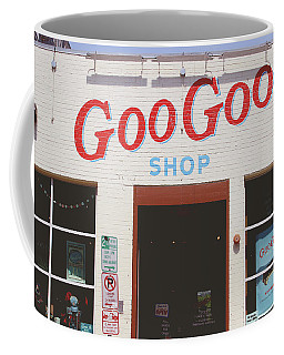 Coffee Mug featuring the photograph Goo Goo Shop- Photography By Linda Woods by Linda Woods