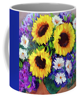 Good Day Sunflowers Coffee Mug