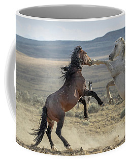 Coffee Mug featuring the photograph Good Left Hook by Ronnie and Frances Howard