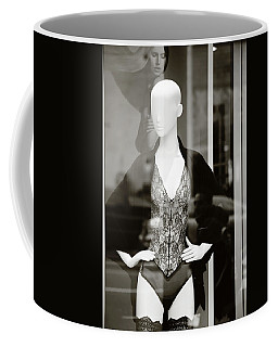 Coffee Mug featuring the photograph Good Look Around by Empty Wall