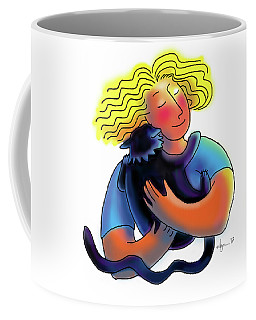 Good Luck Kitty Coffee Mug