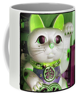 Coffee Mug featuring the photograph Good Meowning. I Feel So Lucky Today by Mr Photojimsf