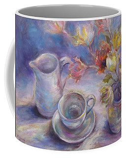 Coffee Mug featuring the painting Good Morning by Bonnie Goedecke