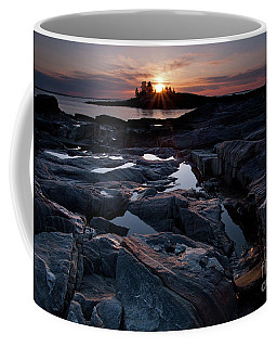 Good Morning From New Harbor, Maine #8213-8216 Coffee Mug