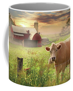Coffee Mug featuring the photograph Good Morning by Lori Deiter